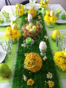 La déco de table végétale