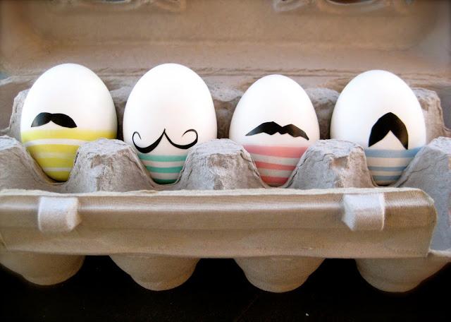 Les œufs à moustaches
