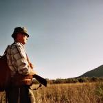 Un chasseur se préparant à la chasse