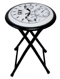 lot-de-4-tabourets-pliants-clock
