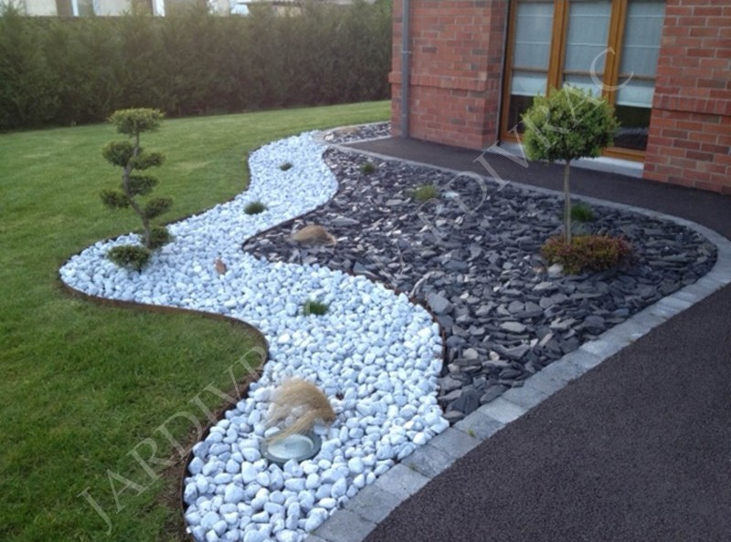 L 39 ardoise un mat riau formidable jardin deco - Decoration pour jardin exterieur ...