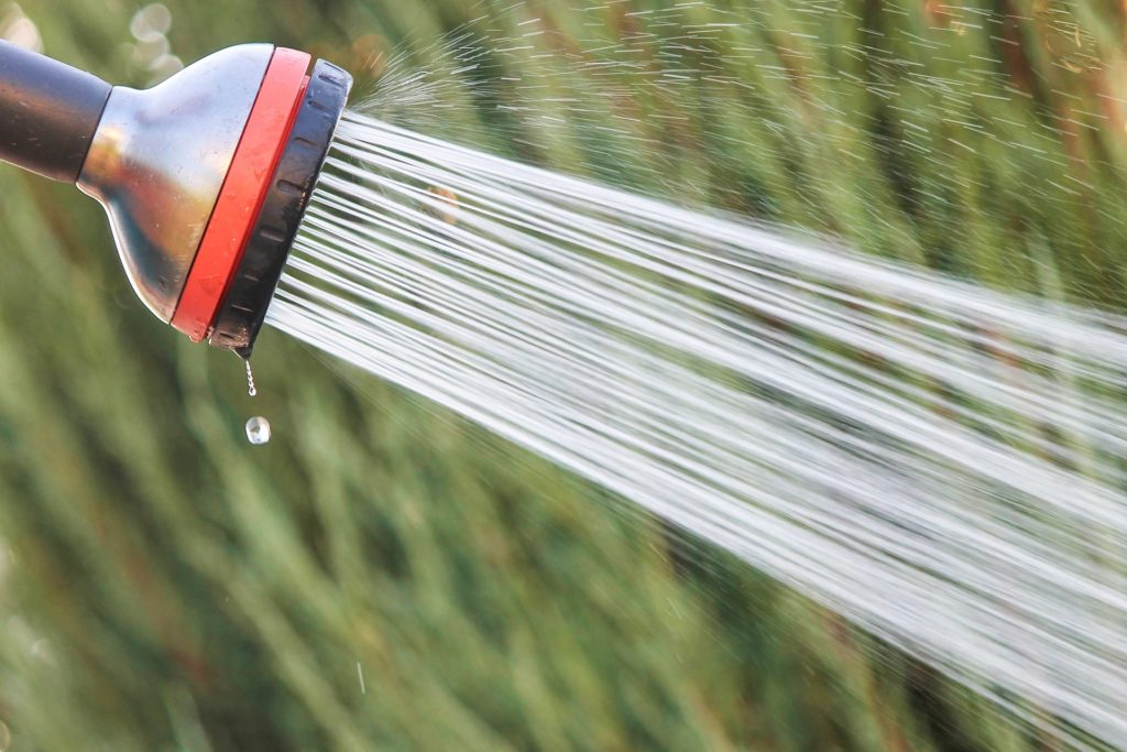 cuve de récupération d'eau de pluie enterrée